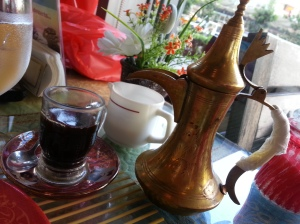 Starbucks has nothing on their Turkish Coffee. Taob na taob.